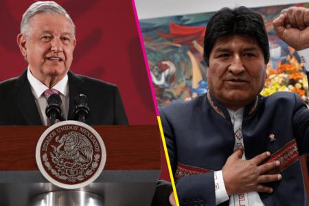 Yo di instrucción de ofrecer asilo a Evo Morales: AMLO
