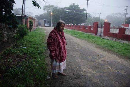 Fría mañana en Yucatán: 9 grados en Oxkutzcab; en Mérida, 16.1