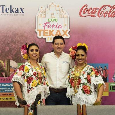 Presentan la Expo Feria Tekax 2019, del 8 al 18 de noviembre