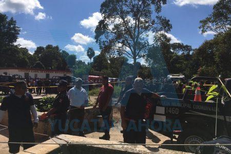 Trágica parranda: un joven cae a un cenote
