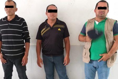 Al estilo mafia fueron a cobrar una deuda: ya están en prisión