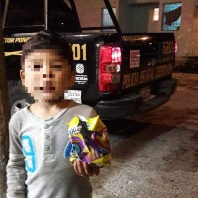 Noche de niños perdidos: menor de cuatro años vagaba en el Paseo Verde