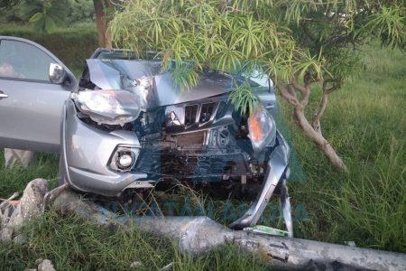Dormita al volante y envía al hospital a su familia, incluyendo una bebé