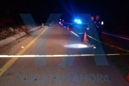 Atropella y huye dejando muerto a un abuelo de 70 años en la Mérida-Cancún