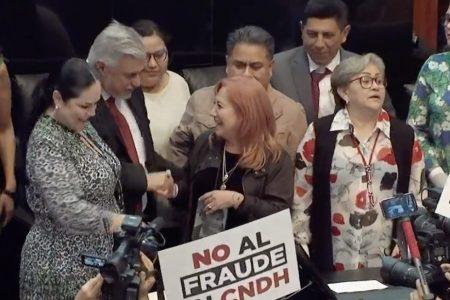 El Amparo y la elección del titular de la CNDH