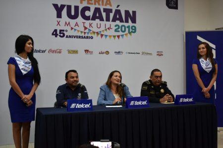 Policía Estatal Metropolitana se suma a la seguridad en la Feria Yucatán 2019