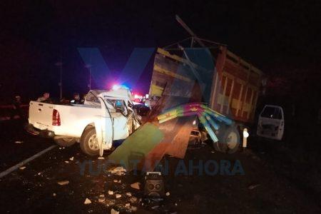 Nuevo trágico accidente en la carretera Mérida-Campeche