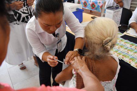 Ya se aplicaron 73 mil vacunas contra la influenza en Yucatán