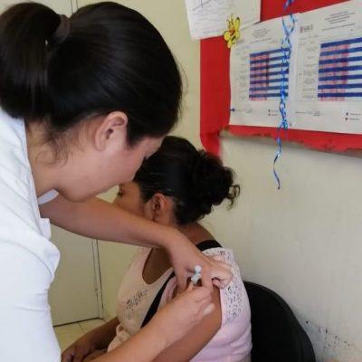 El asueto no detiene la vacunación contra influenza