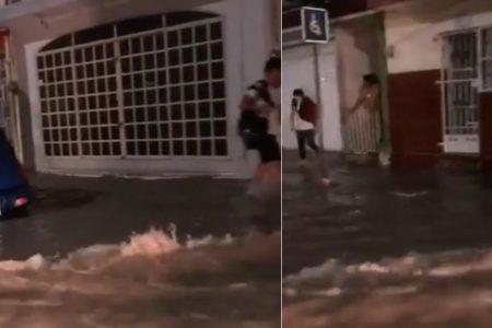 Intensas lluvias en el norte de Yucatán: Motul y Progreso con inundaciones