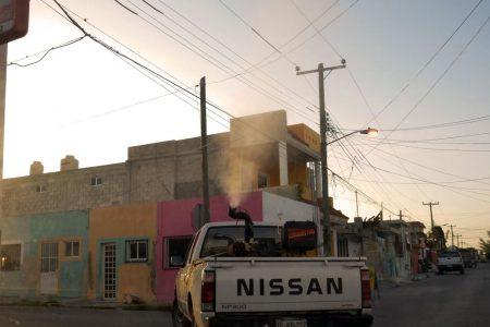 Con nebulización espacial y otras medidas controlan el dengue en Yucatán