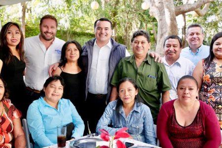Renán Barrera reconoce el papel de los comisarios en el desarrollo de Mérida