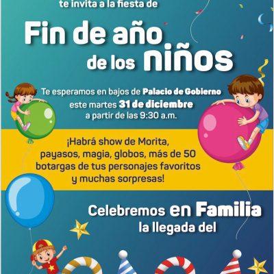 """Garantizan seguridad de familias durante el festival """"Fin de año de los niños"""""""