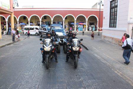 Operativo navideño en el centro de Mérida: vigilan la Policía Municipal y la SSP
