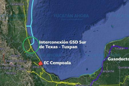 Consejo de CFE aprueba obra para traer más gas natural a la Península de Yucatán