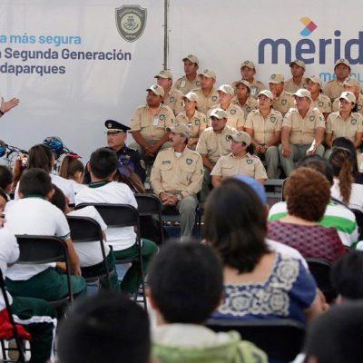 Ya tienen guardaparques otros 14 espacios de recreación en Mérida