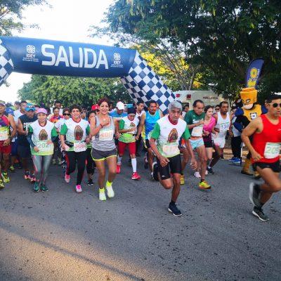 Gran participación en la Carrera Guadalupana
