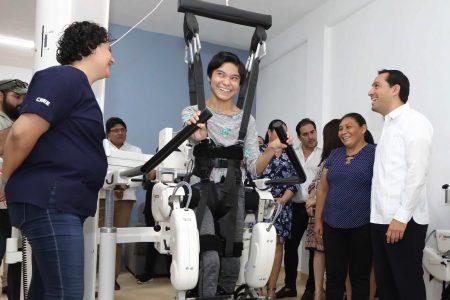 Mauricio Vila anuncia más presupuesto para apoyar a personas con discapacidad