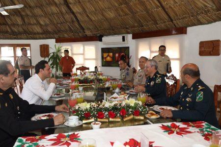 Coordinación con Fuerzas Armadas, clave para la seguridad: Mauricio Vila
