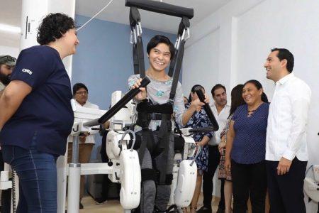 Mejores servicios para las personas con discapacidad, incluso con un robot
