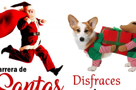 Llega el espíritu navideño a Kinchil: carrera de santas, Juguetón y pesebre viviente