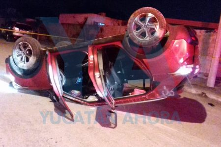 Instantánea muerte de un motociclista que no vio un alto en San Pedro Cholul