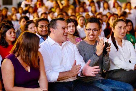 Jóvenes, el motor para engrandecer a Mérida