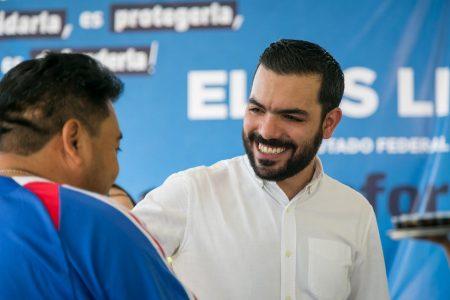 Defender el bienestar de los meridanos, prioridad del diputado Elías Lixa