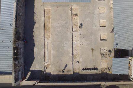 Encuentran vestigios de un convento en estacionamiento del centro de Mérida