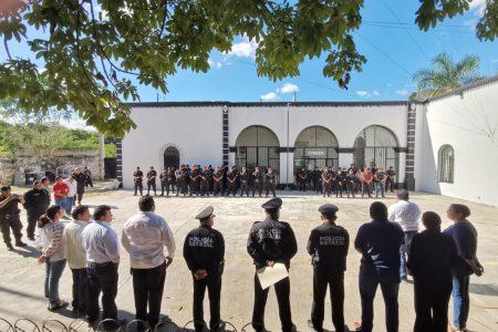 Refuerzan labor de la Policía en cuatro municipios yucatecos