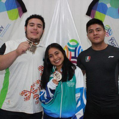 Pesistas yucatecos traen 67 medallas del Campeonato Nacional del Pavo