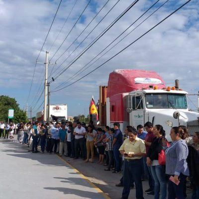 Traen gente de Chiapas y Tabasco para presionar en el Congreso de Yucatán