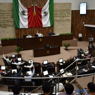 Con 22 votos a favor y tres en contra, aprueban paquete fiscal 2020 en Yucatán