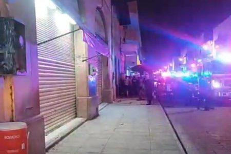 Conato de incendio en la céntrica tienda Huacho Martín de Mérida