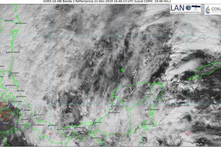 Nublados y lluvias a lo largo de todo el sábado por el frente frío 24