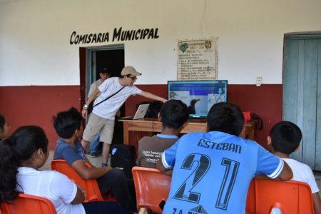 Enseñan a niños de la selva maya a ponerles alas a sus sueños