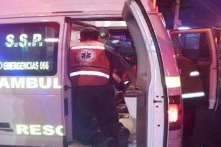 Tragedia en carretera: un motociclista se estrella contra un camión cervecero