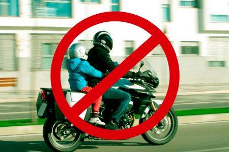 Prohíben que en Yucatán viajen en moto niños menores de cinco años