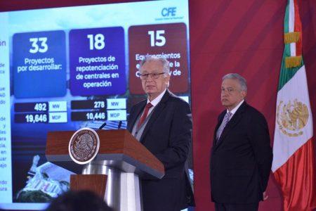 Anuncia CFE que bajarán 30 por ciento las tarifas de luz en Yucatán