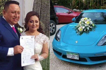Se casa con su tesorera ex alcalde yucateco acusado de millonarios desvíos