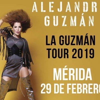 Posponen concierto de Alejandra Guzmán en Mérida