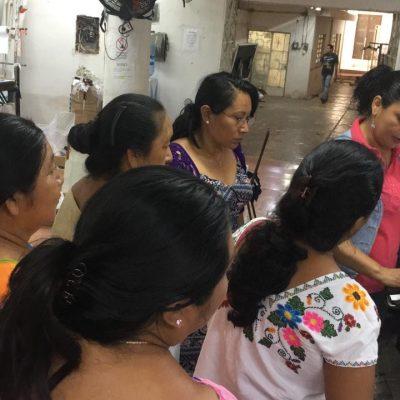 Artesanas del sur de Yucatán aprenden procesos que solo las maquiladoras tienen