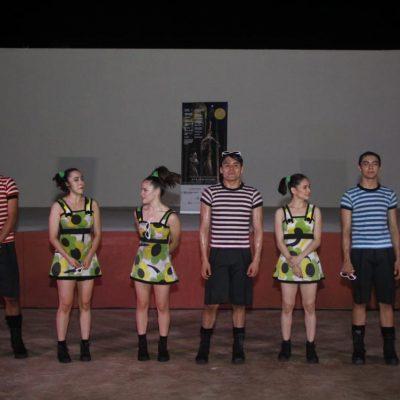 Festival de Danza Oc'-Ohtic lleva el espectáculo 'Polígono irregular' a los municipios
