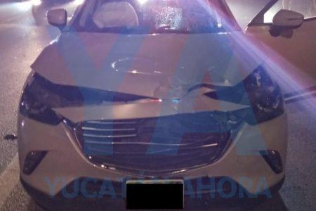 Trágico accidente en el Periférico: muere peatón que cruzó sin fijarse