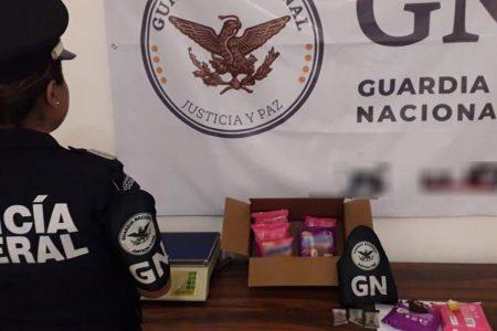 Decomisan 'twinkies' con opioides en el aeropuerto de Mérida
