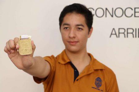 Alumno de la Uady gana el oro en la Olimpiada Nacional de Biología