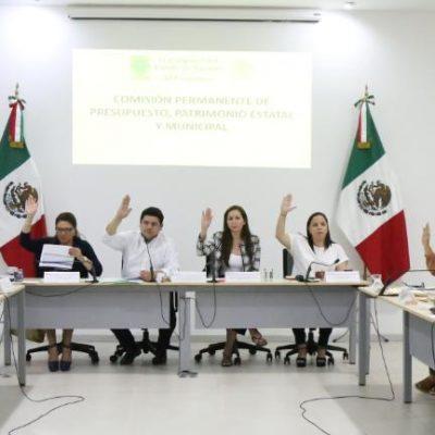 Diputados aprueban en comisión Paquete Fiscal Estatal 2020