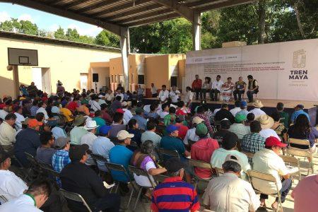 Sin opinión en contra, las asambleas consultivas del Tren Maya en Yucatán