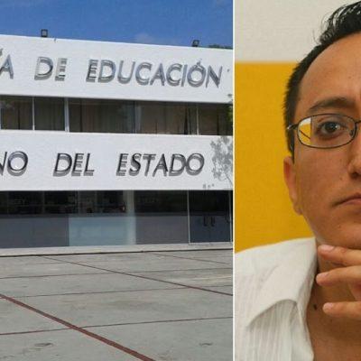 Guillotina afilada en la Secretaría de Educación