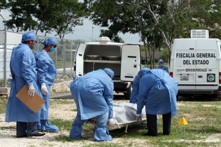 Trágica muerte de conductor de un triciclo en la carretera Mérida-Chetumal